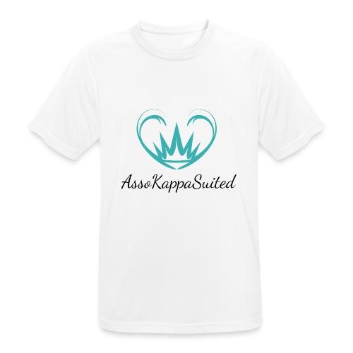 AssoKappaSuited - Maglietta da uomo traspirante
