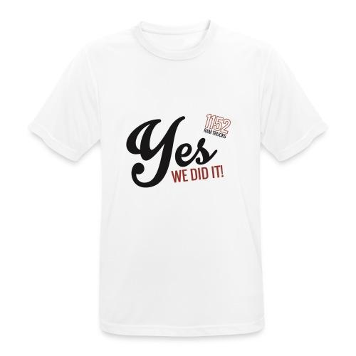 black - Männer T-Shirt atmungsaktiv