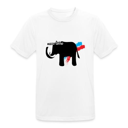 Macca Liotru - Maglietta da uomo traspirante