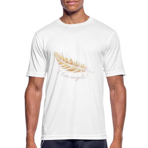 EngelFeder Love - Männer T-Shirt atmungsaktiv