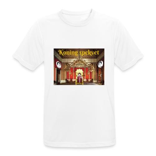 Koning Spekvet - Mannen T-shirt ademend actief
