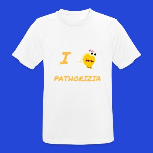 Love Pathorizia - Maglietta da uomo traspirante