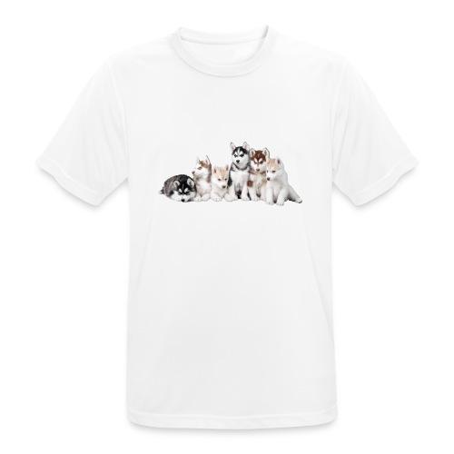 Dogs - Maglietta da uomo traspirante