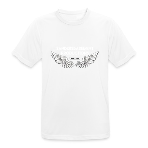 T SHIRT logo wit png png - Mannen T-shirt ademend actief