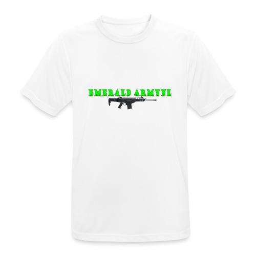 EMERALDARMYNL LETTERS! - Mannen T-shirt ademend actief