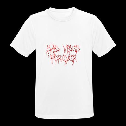 BAD VIBES FOREVER - Herre T-shirt svedtransporterende