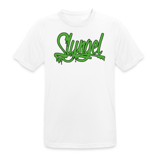 gr nn - Pustende T-skjorte for menn