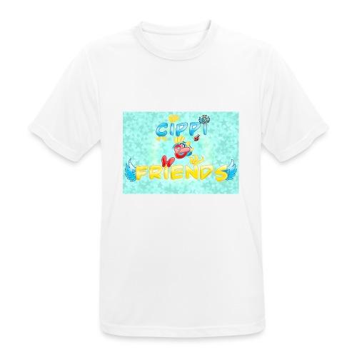 Tazza Cippi & Friends - Maglietta da uomo traspirante