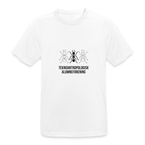 Teknoantropologisk Støtte T-shirt figur syet - Herre T-shirt svedtransporterende