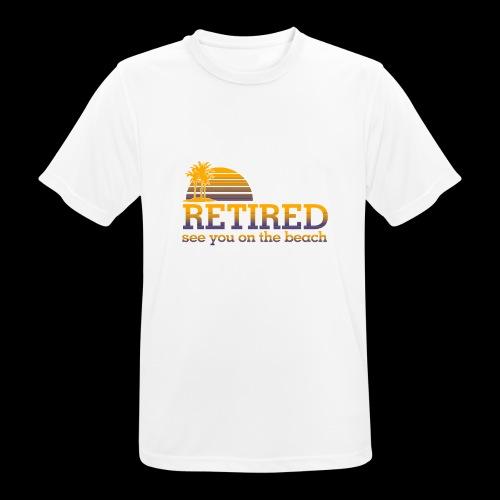 Retraite - T-shirt respirant Homme