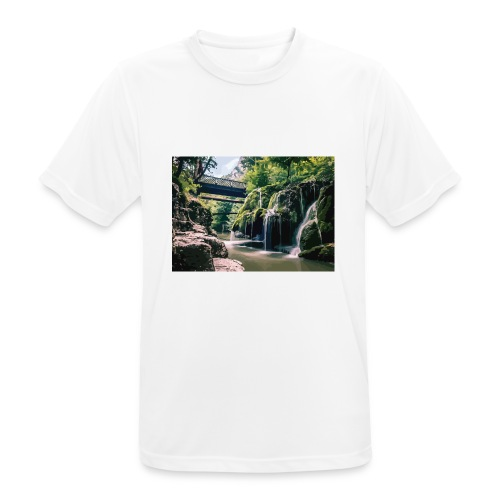 bigar waterfall - Men's Breathable T-Shirt