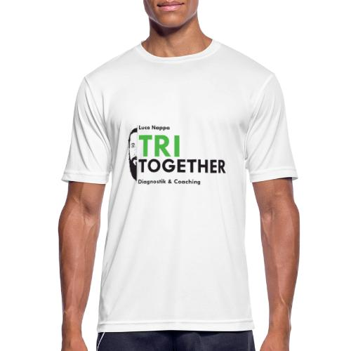 LUCA_TRI_TOGETHER - Männer T-Shirt atmungsaktiv