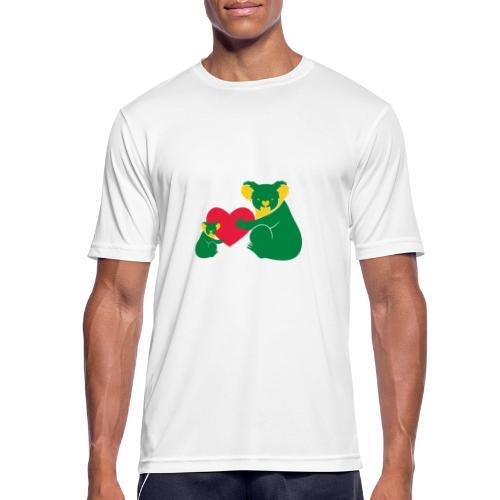 Koala Heart Baby - Men's Breathable T-Shirt