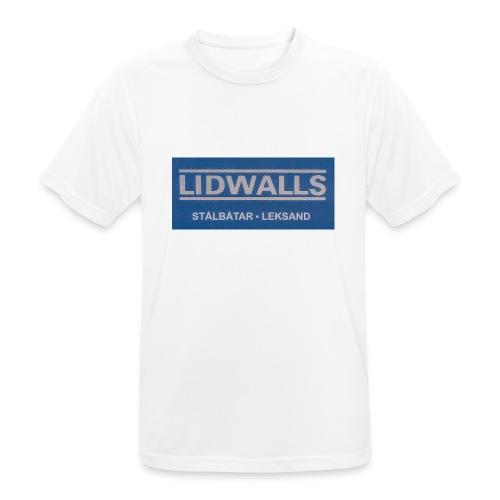 Lidwalls Stålbåtar - Andningsaktiv T-shirt herr