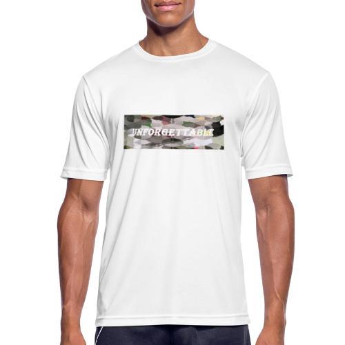 unforgettable - T-shirt respirant Homme