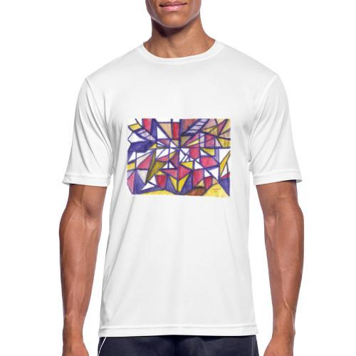 Flickenteppich - Männer T-Shirt atmungsaktiv