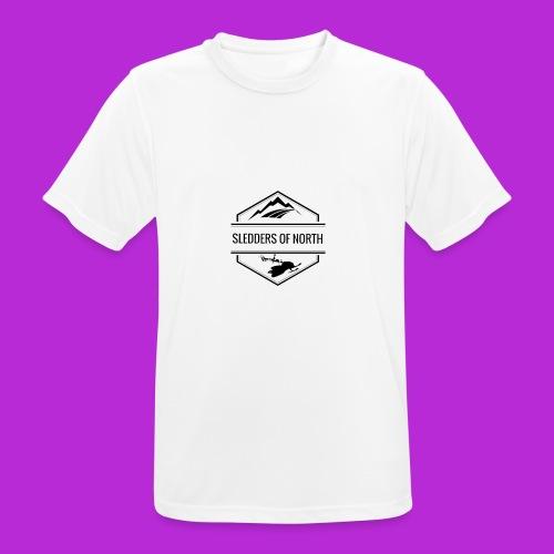 Water bottle - Men's Breathable T-Shirt