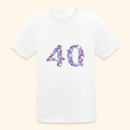 pinks - Männer T-Shirt atmungsaktiv