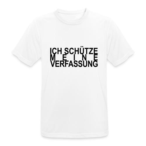 WORTKunstwort 21.4 - Männer T-Shirt atmungsaktiv