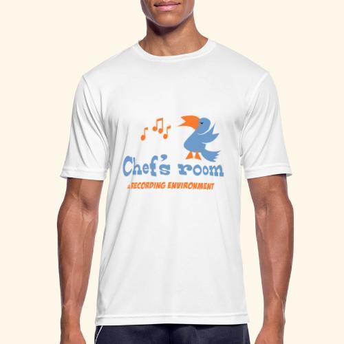 chefs room - miesten tekninen t-paita