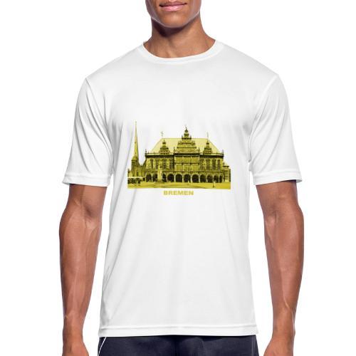 Bremen Rathaus Roland Hansestadt Deutschland - Männer T-Shirt atmungsaktiv