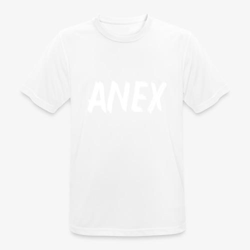 T-Shirt Anex white logo - Men's Breathable T-Shirt