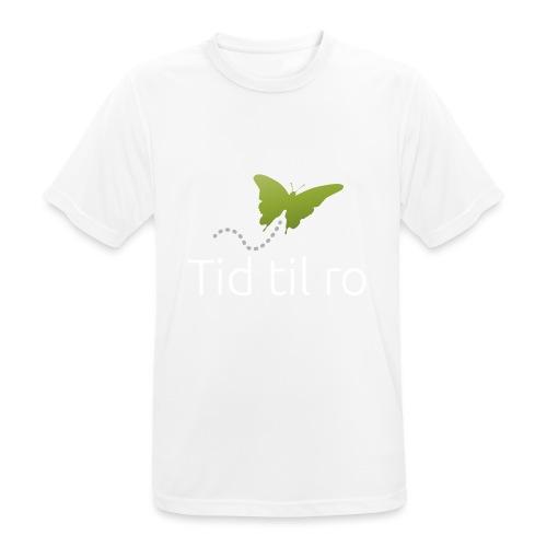 Tid til ro - Herre T-shirt svedtransporterende