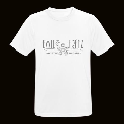 EmilUndFranz - Männer T-Shirt atmungsaktiv
