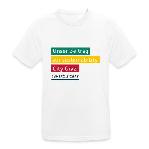 Energie Graz Vision - Männer T-Shirt atmungsaktiv