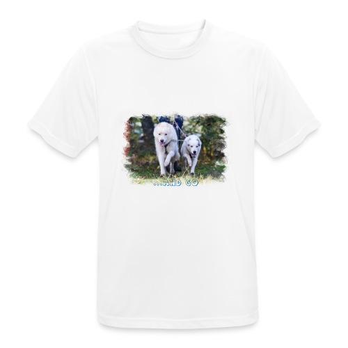 ...and Go - Männer T-Shirt atmungsaktiv