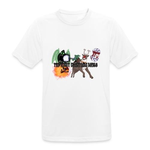 The Night jul Ended - Herre T-shirt svedtransporterende