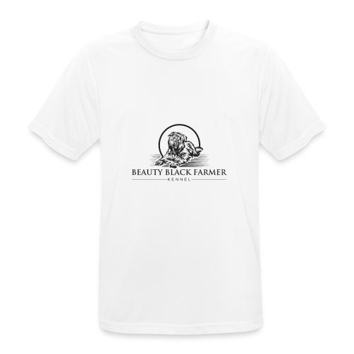 Beauty Black Farmer - Männer T-Shirt atmungsaktiv