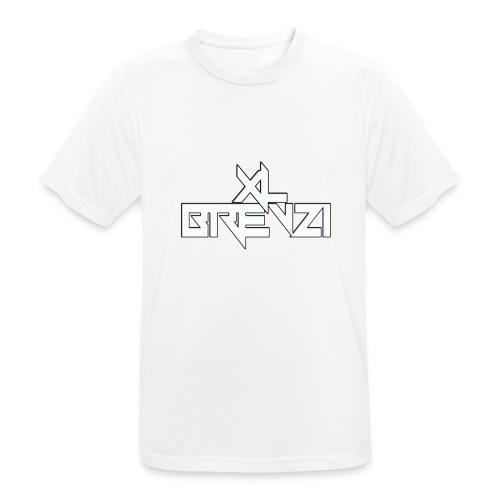 brevzi - mannen T-shirt ademend