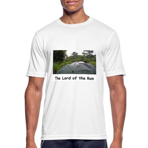 The Lord of the Rain - Neuseeland - Regenschirme - Männer T-Shirt atmungsaktiv