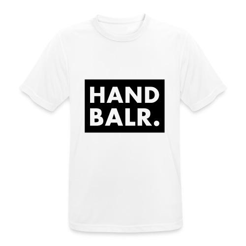 Handbalr Wit - Mannen T-shirt ademend