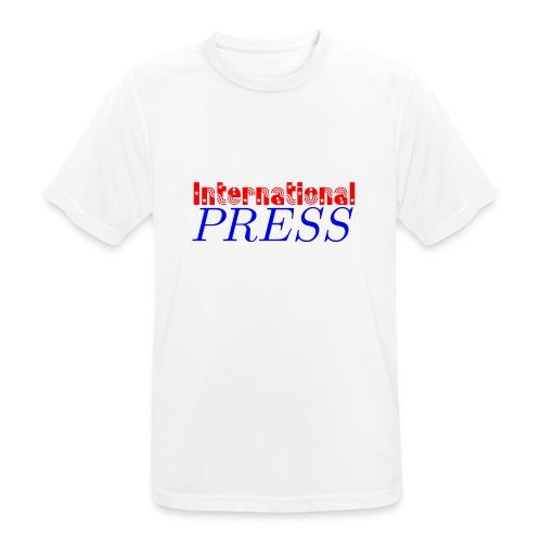 int_press-png - Maglietta da uomo traspirante