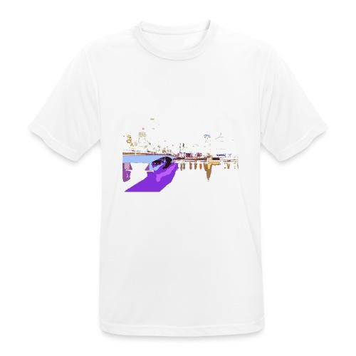 CITY NIGHT - Maglietta da uomo traspirante