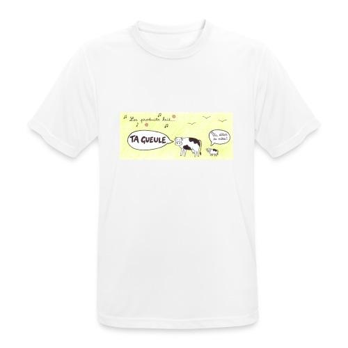 Vache pas laitière - T-shirt respirant Homme