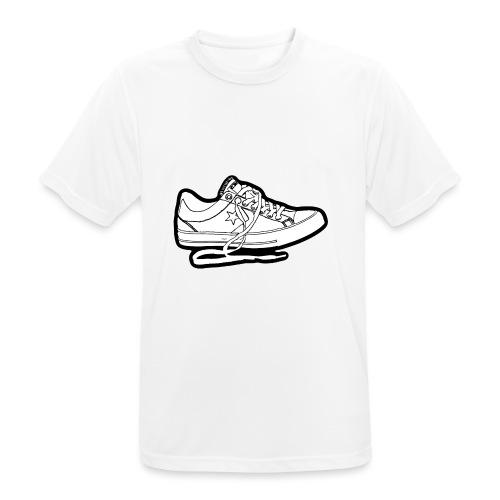 sneaker1 - Andningsaktiv T-shirt herr