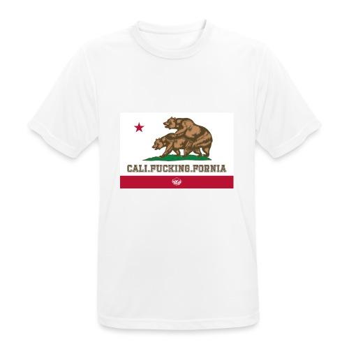 California, Californiano, Fuck, Orso - Maglietta da uomo traspirante