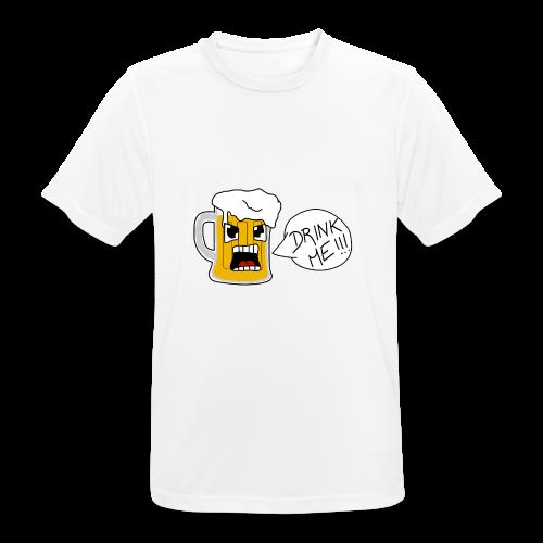 Bière - T-shirt respirant Homme