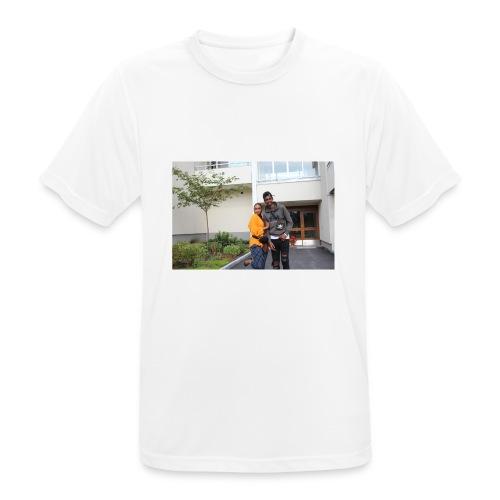 ishaa aziiz - Andningsaktiv T-shirt herr