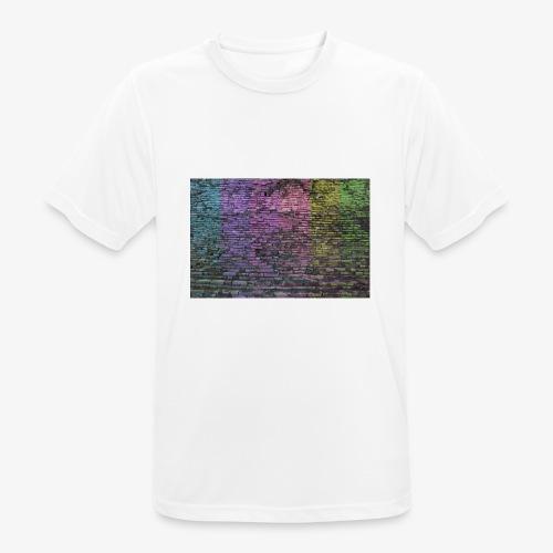 Regenbogenwand - Männer T-Shirt atmungsaktiv