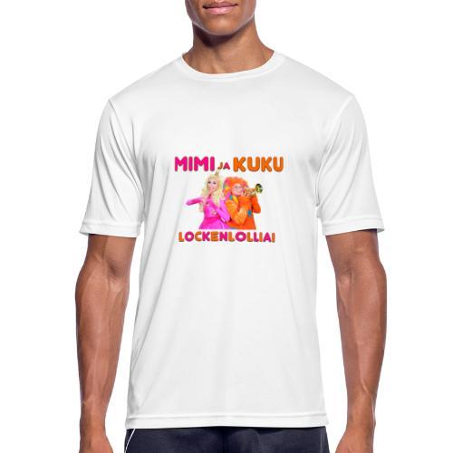 Mimi ja Kuku Lockenlollia - miesten tekninen t-paita