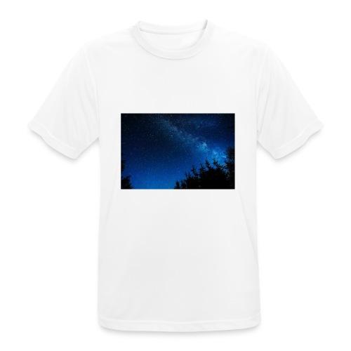 sterrenhemel afdruk/print - Mannen T-shirt ademend actief