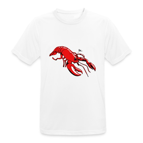 Lobster - Men's Breathable T-Shirt