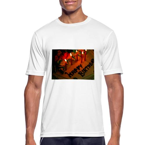 happy Birthday - Men's Breathable T-Shirt