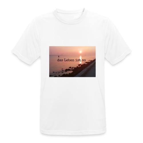 Sunset dLis - Männer T-Shirt atmungsaktiv
