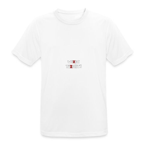 WRONG THOUGHTS - Männer T-Shirt atmungsaktiv
