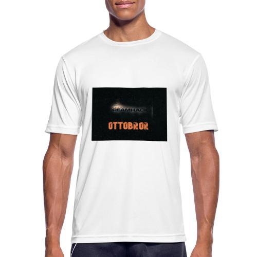 svart granit polerad - Andningsaktiv T-shirt herr